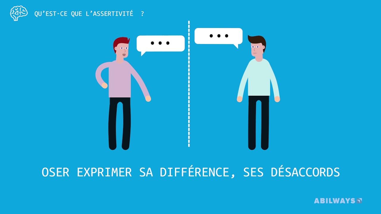 Qu'est-ce que l'assertivité ?