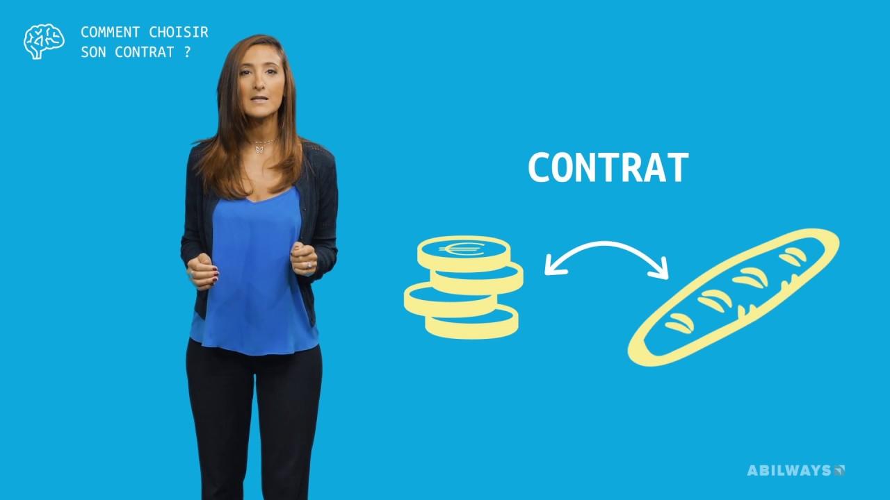 Comment choisir son contrat
